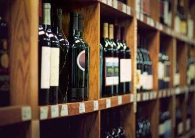 Extensive Wine Collection